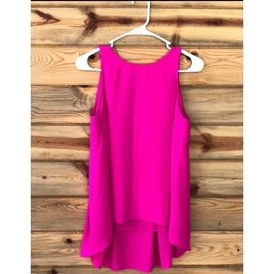 Vince camuto high low PS small top